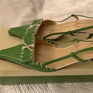 Kate Spade New York Green Slingback Sandals